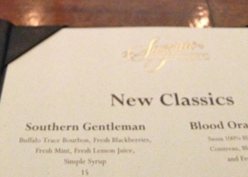 The Southern Gentleman Bourbon Cocktail